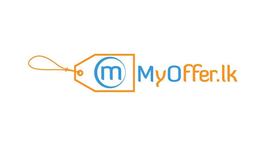 Konkurrenceindlæg #                                        28                                      for                                         Design a Logo for website :www.MYOFFER.LK