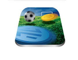 nº 43 pour Logo Design for Soccer Game par anamiruna