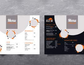 #44 for 2 Menu Designs for 1 Restaurant by Tac82