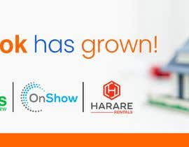Nro 15 kilpailuun Propertybook has grown Banner käyttäjältä jeewa10