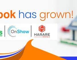 Nro 17 kilpailuun Propertybook has grown Banner käyttäjältä jeewa10