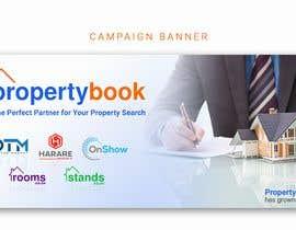 Nro 43 kilpailuun Propertybook has grown Banner käyttäjältä naymulhasan670