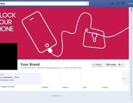 nº 18 pour Design a cover for Facebook,YouTube and twitter for UnlockPanda par zoomlander