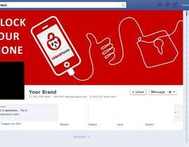 zoomlander tarafından Design a cover for Facebook,YouTube and twitter for UnlockPanda için no 26