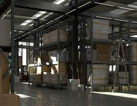 syedzubairrr tarafından I need a hyperrealistic warehouse scene in Unity/Unreal/Blender/Vray etc için no 33
