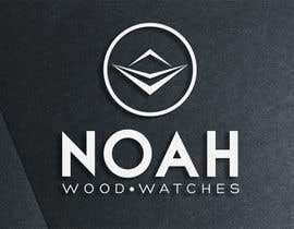 #164 para Redesign a Logo for wood watch company: NOAH por rockbluesing
