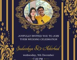 #48 cho Design a Wedding Invitiation Card bởi zahed333