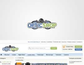 #19 cho Logo Design for OpticShop.ro bởi erupt