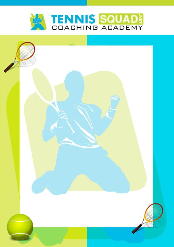 """Intrarea #8 pentru concursul """"Design Flyer/Document Templates for Tennis Coach"""""""