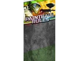 nº 2 pour PAINTBALL RULES Banner Layout (Tough, Diamondplate, grunge, etc) par ivaelvania