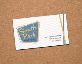 #96 for Design a Logo/ Business card for South Park Guest House by Chaddict