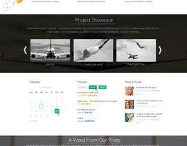 #37 för Design a FUN and AWESOME Aviation Website Design for Flight Club av graphicethic