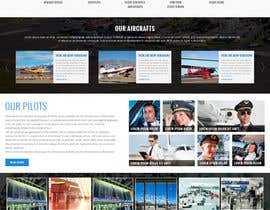 #24 dla Design a FUN and AWESOME Aviation Website Design for Flight Club przez massoftware