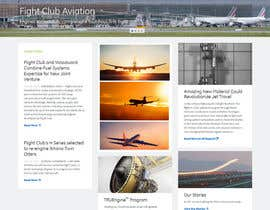 #41 para Design a FUN and AWESOME Aviation Website Design for Flight Club por giorgadzeoto