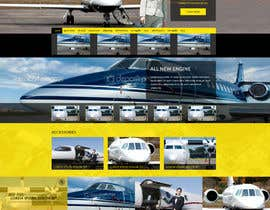 Nro 50 kilpailuun Design a FUN and AWESOME Aviation Website Design for Flight Club käyttäjältä thelogodesigns