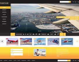 #10 para Design a FUN and AWESOME Aviation Website Design for Flight Club por himel006