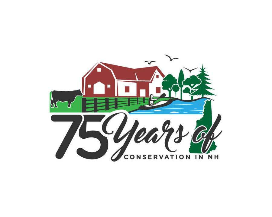 Inscrição nº                                         87                                      do Concurso para                                         Celebrating 75 Years of Conservation