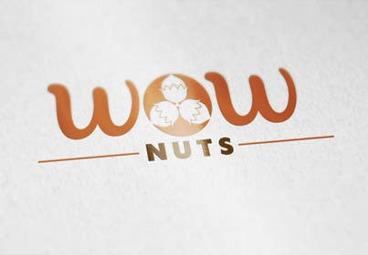 #5 for Design a Logo for WOW Nuts by deztinyawaits
