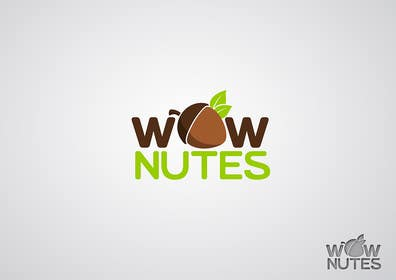 #263 for Design a Logo for WOW Nuts by GraphiqueStyle