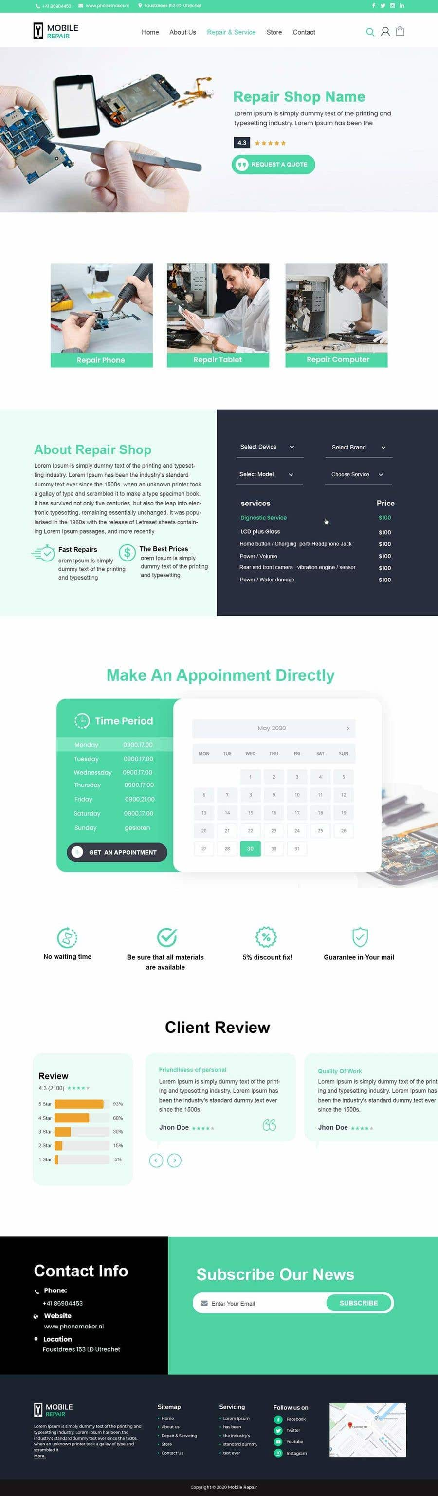 Contest Entry #                                        29                                      for                                         UX design 5 pages