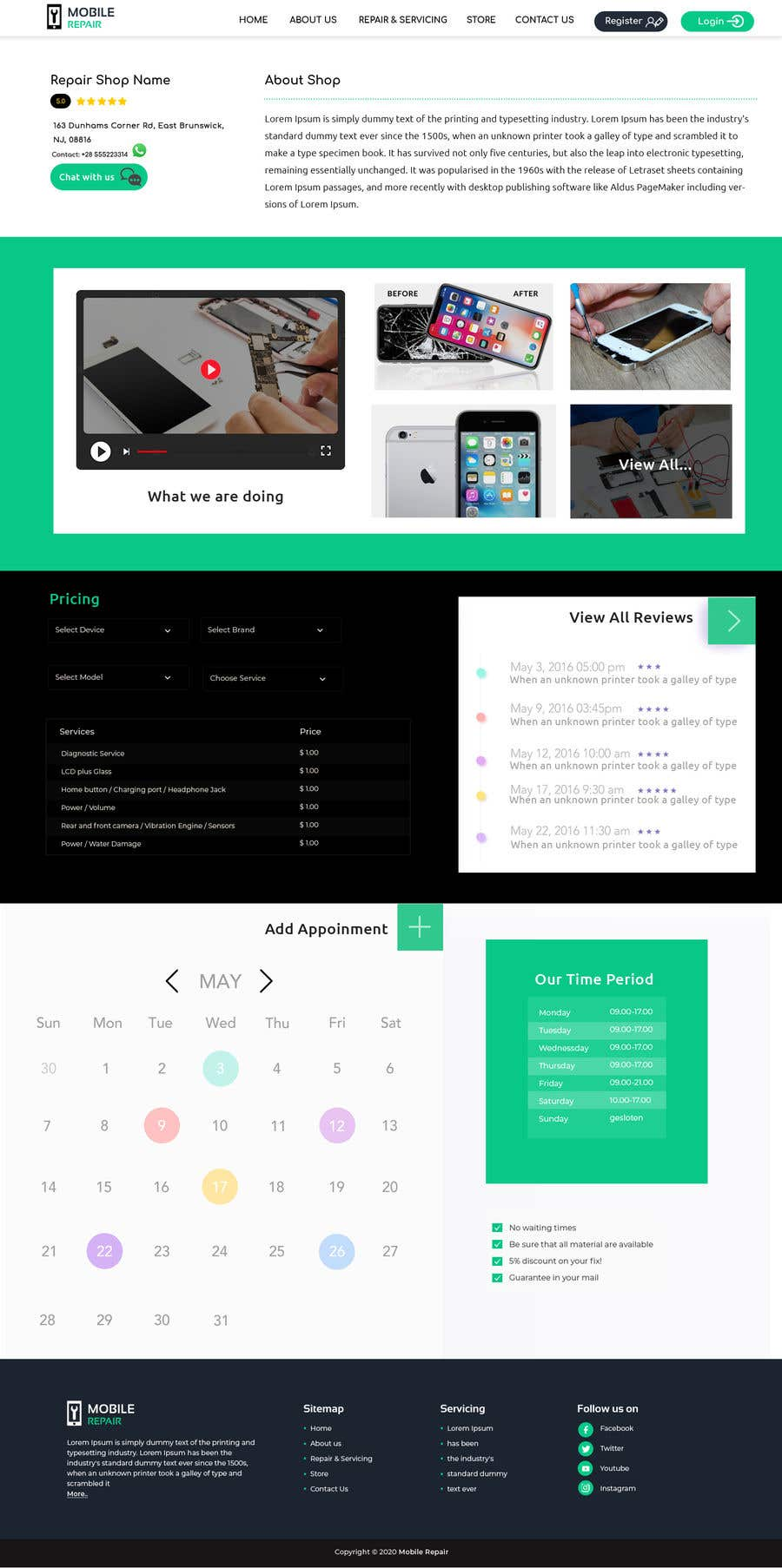Contest Entry #                                        13                                      for                                         UX design 5 pages
