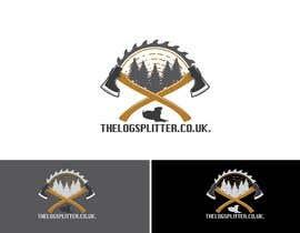 #420 untuk Logo Design - thelogsplitter.co.uk oleh Rakhmanov18