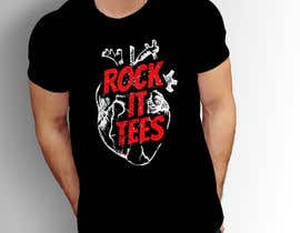 #227 for Rock It Tees logo for T-shirt company by MohsenBD