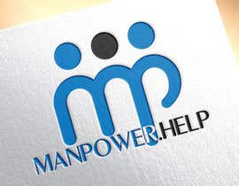 #22 , Logo for Manpower.Help 来自 dezigningking