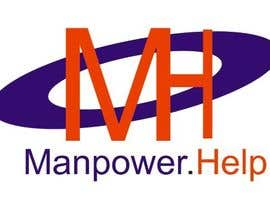 #27 for Logo for Manpower.Help by ashrafnauman