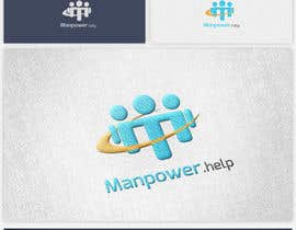 #17 , Logo for Manpower.Help 来自 yaseendhuka07