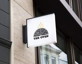 #556 untuk LOGO FOR PIZZA TRAILER SIMPLE AND EFFECTIVE THE OVEN IS LOG FIRE - business is called - THE OVEN oleh shahnewaz77