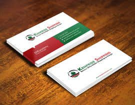 #40 para Design some Business Card for shipping company por gohardecent