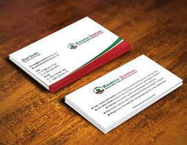 #167 for Design some Business Card for shipping company by gohardecent
