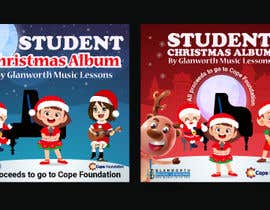 #60 cho Design a student Christmas album cover for for a music school **Easy Brief** bởi sompa577