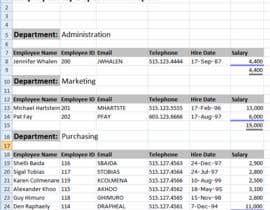 mogza451 tarafından Create a list of supplier/ service providers için no 64