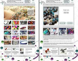 #24 för Website Design for BeadCrafty.com av kitkris13
