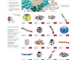 #23 för Website Design for BeadCrafty.com av monkeychunks