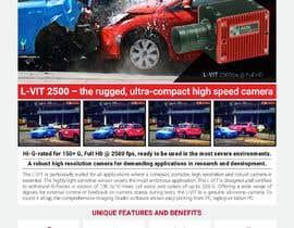 Nro 31 kilpailuun New leaflet/datasheet/brochure design for our products käyttäjältä jrayhan