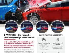 Nro 78 kilpailuun New leaflet/datasheet/brochure design for our products käyttäjältä jrayhan