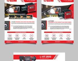 Nro 55 kilpailuun New leaflet/datasheet/brochure design for our products käyttäjältä renzberboso