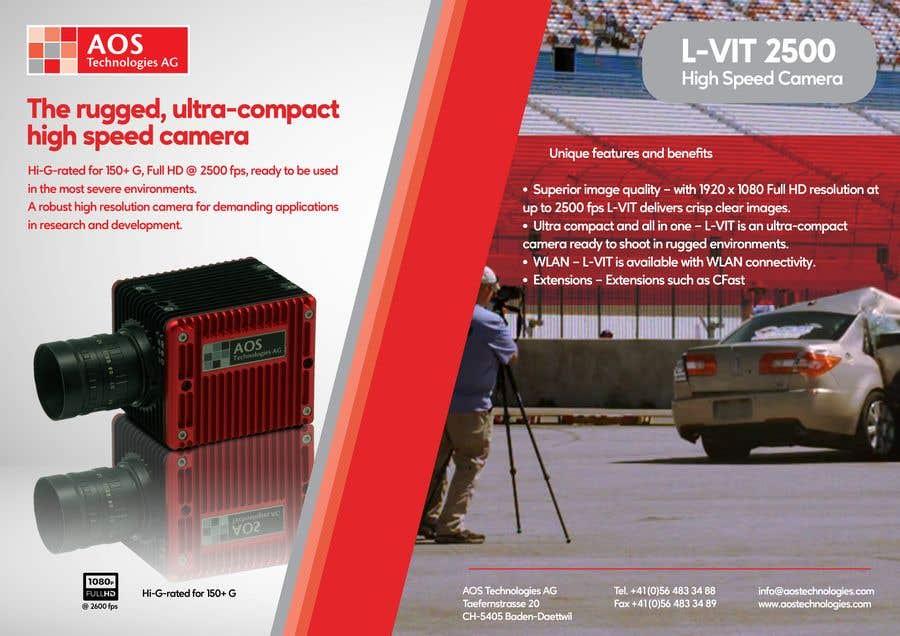 Kilpailutyö #                                        84                                      kilpailussa                                         New leaflet/datasheet/brochure design for our products