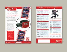 Nro 70 kilpailuun New leaflet/datasheet/brochure design for our products käyttäjältä yasineker