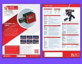 Nro 118 kilpailuun New leaflet/datasheet/brochure design for our products käyttäjältä yasineker