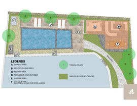 #9 for Landscape Design around an existing pool with Dinning, BBQ , shower and Lounge areas af meddler99