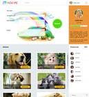 Design a Website Mockup for Kids Social Media site için Graphic Design16 No.lu Yarışma Girdisi