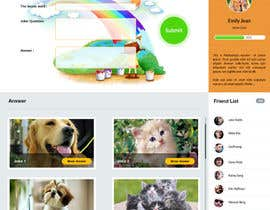 hoang8xpts tarafından Design a Website Mockup for Kids Social Media site için no 16