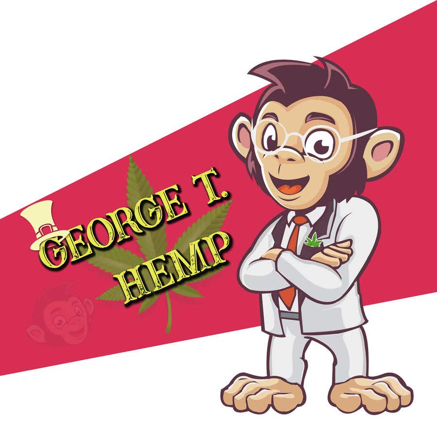 Konkurrenceindlæg #                                        39                                      for                                         Design cartoon character named, George T Hemp.