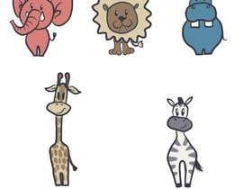 #8 cho Create a safari illustration of baby cloths bởi Tatasta