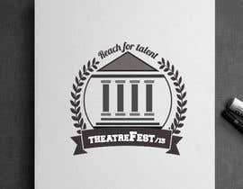 #37 para Design a Logo for TheatreFEST/15 de ahmedburo
