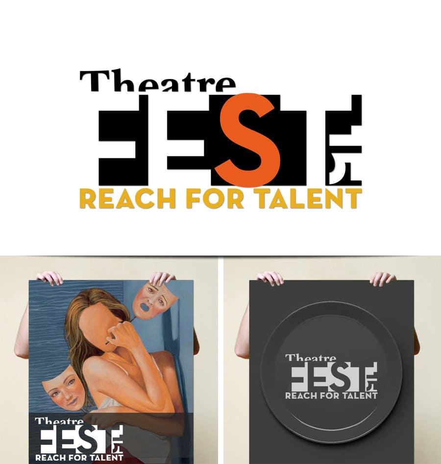 Proposition n°7 du concours Design a Logo for TheatreFEST/15